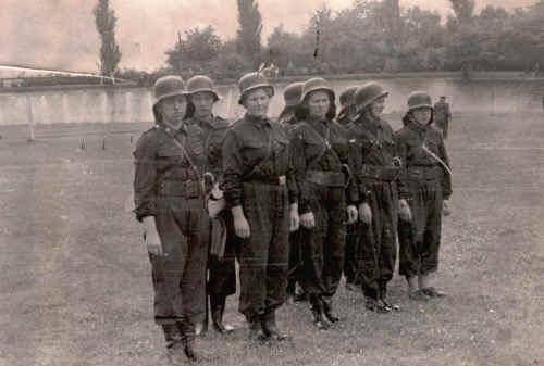 1962, Frauenlöschgruppe