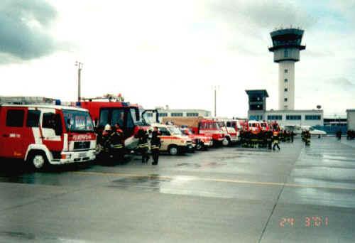 Einsatzübung 2001