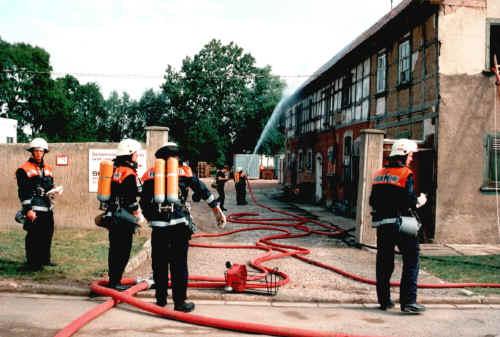 Einsatzübung 1995