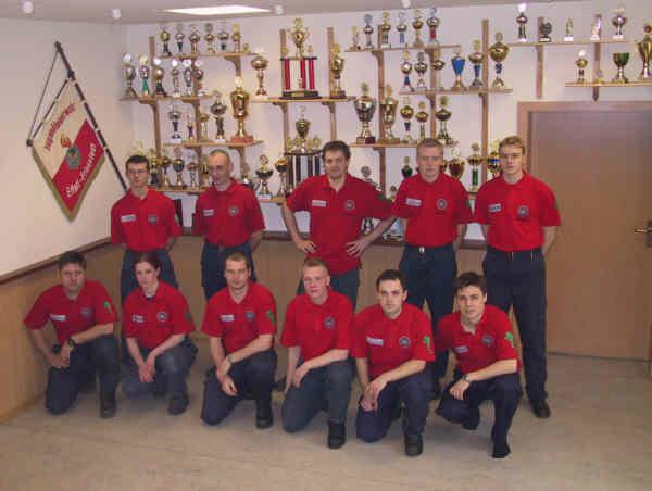 Wettkampfmannschaft 2001
