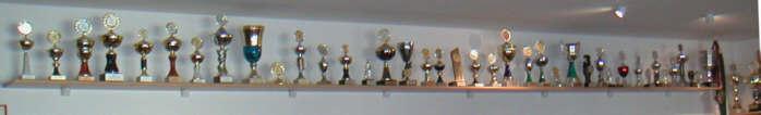 unsere Pokalwand 2002