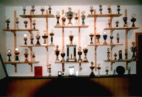 unsere Pokalwand 1998